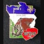 35-rap-insigne-metallique-de-la-section-de-mortiers-lourds-du-35-regiment-d-artillerie-parachutiste-a-sarajevo-batinf-2-en-1996-de-fabrication-segalen-en-email