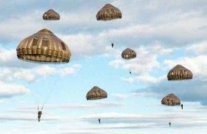 Un siècle d'interventions aériennes: le parachute Parachute