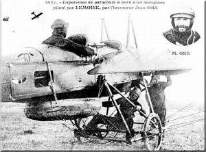 Un siècle d'interventions aériennes: le parachute Parachute-2